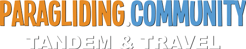 Paragliding Community Logo